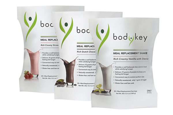 BodyKey Meal Replacement Shake (Rich Creamy Vanilla ...
